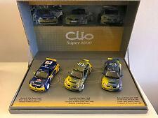 UH Coffret 3 RENAULT CLIO Super 1600 Saison 2003 1.43 NB