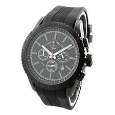 Relojes de pulsera Chrono de acero inoxidable para hombre
