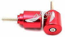Red barends bar ends Honda CBR 250 600 900 1000 VFR800 VTR RC51 #BE108RD#