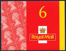 Great Britain MB1a ~ 2001 6x First Class booklet w added 'Cod Post' ~ Sc MH298c.