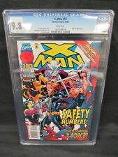 X-Man #18 (1996) X-Factor Appearance CGC 9.8 White Pages E383