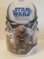 STAR WARS THE LEGACY COLLECTION LEEKTAR & NIPPET #4 BUILD A DROID! FIGURE