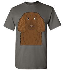 Boykin Spaniel Dog Cartoon T-Shirt Tee - Men Women Ladies Youth Kids Tank Long