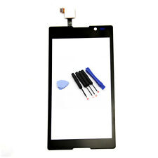 Touch Screen Digitizer Glass For Sony Xperia C C2304 C2305 S39h+Tools Black New
