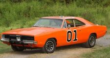 General Lee Vinyl Decal Kit Fits 1968 1969 1970 Dodge Charger Decals Stickers