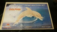 Wooden Dolphin construction kit from HONG
