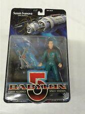 Babylon 5 Susan Ivanova W/ Starfury Blue Uniform Red Lettering Autographed