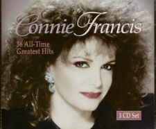 CONNIE FRANCIS 36 ALL-TIME GREATEST HITS 3 Cd Lot