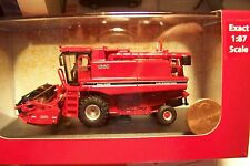HO 1:87 diecast scale CASE IH Axial Flow 1660 FARM COMBINE :  NEW IN BOX