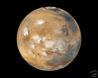 Planet Mars Red Planet NASA Solar System Outer Space 8 x 10 Photo Photograph