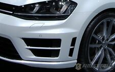 Branchie PELLICOLA NERO VW VOLKSWAGEN GOLF 7 VII MK R passg. FRONT Grembiule ADESIVI
