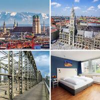 Kurzurlaub in München - TOP Stadthotel inkl. Frühstücksbuffet & Dachterrasse
