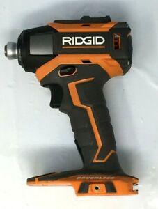 Ridgid R86037 18V Impact Driver Brushles Gen5X 1/4 Hex GR M