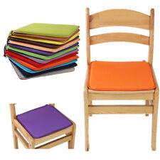 40x40cm Tie on Chair Cushion Pad Seat Patio Indoor Outdoor Garden Dining Kitchen