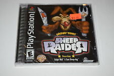 Sheep Raider Sony Playstation PS1 Video Game New Sealed