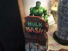 2002 Incredible Hulk Bash 13 in. Coin Bank Free Shipping