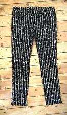 Living Dead Souls RARE! Low-rise skull bone pinstripe skinny jeans XL goth/punk