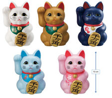 BANDAI Gashapon Figure Japanese Lucky Cat Wealth Good Luck set of 5
