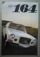 VOLVO 164 SALOON orig 1968 UK Mkt Sales Brochure