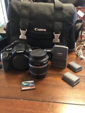Canon Rebel Xti 400 Complete Package, With 18-55 Lens And Other Accessories