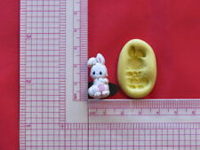 Baby Bunny Rabbit Silicone Mold A917 Chocolate Fondant Miniature Baby Shower