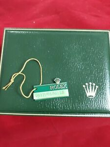 VINTAGE ROLEX REF. 11-00-01 WATCH BOX GREEN