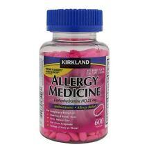 Kirkland Signature™ Allergy Medicine 25 mg 600 Minitabs + Free Shipping