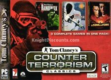 COUNTER TERRORISM CLASSICS 3x PC Shooter Games NEW BOX