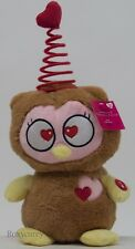 """Valentine's Animated Friend Stuffed Owl Dances & Sings to """"Right Round"""" NWT"""