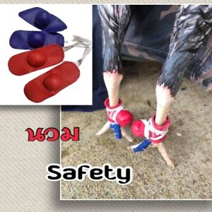 Rooster Cocks Chicken Mitt Safety Para Gallos Hen Fighting Protection Wrestling