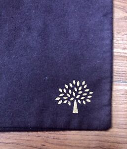 Authentic Large Mulberry Brown Dust Bag 17.5 x 17 shoes boots purse