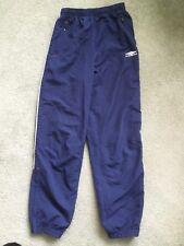 Boys Navy Blue Umbro Sports Trousers
