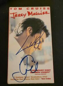 TOM CRUISE CUBA GOODING JR SIGNED JERRY MAGUIRE VHS TAPE W/COA+PROOF RARE WOW