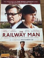 Promotional Movie Flyer *NOT A DVD* The Railway Man Colin Firth, Nicole Kidman