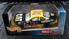 NASCAR HOT WHEELS RACE DAY DELUXE CATERPILLAR PONTIAC #22 SIGNED NO COA D7