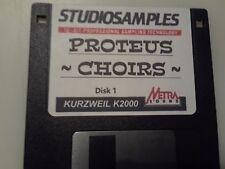 Kurzweil ~ PROTEUS For Krz ~ CHOIRS ~ Disk 1 ~  V.A.S.T.Native KRZ Programs!