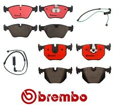 Brembo Front & Rear NAO Ceramic Brake Pads with Sensors Kit For BMW E46 E83 E85