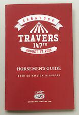 2016 Saratoga Travers Horsemen's Guide,Program,Arrogate beat Exaggerator Creator