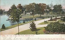 LAM(B) Paterson, NJ - West Side Park - Scenic View of Lake and Grounds