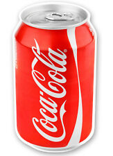 Coke Drinks Can Catering Sticker - Ice Cream Van Takeaway Cola UV Laminated