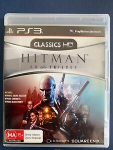 HITMAN HD TRILOGY PS3 PLAYSTATION 3 AUS PAL VGC COMPLETE THREE GAMES IN ONE