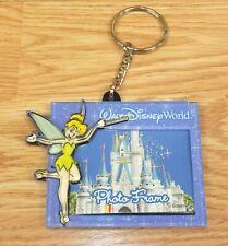 Walt Disney World Small Purple Tinker Bell Theme Photo Frame Key Chain
