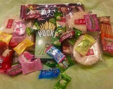 Asian Snack Box 120 pc Japanese Korean Chinese Variety Asian Treat Tester Sample