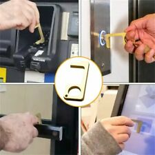 EDC Keychain Non-Contact Door Opener Elevator Stylus Brass 280 Portable Tool