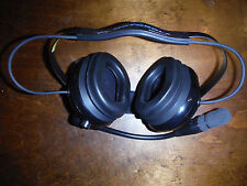 Motorola BDN6645A - Heavy Duty Dual Muff Headset - NEW Without Box - FREE SHIP