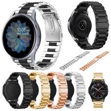 Para Samsung Galaxy 46mm activo 2 40/44 mm Reloj de acero inoxidable reloj banda correa