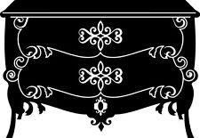 Sticker Maison 101 Commode Baroque - 82x57 cm