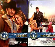 Harlequin Montana Mavericks Christmas 2015 two pack new paperback set 303