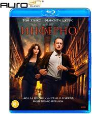 *NEW* Inferno (Blu-ray, 2017, Region B/C) Eng,Rus,Cze,Pol,Hun, AURO 3D SOUND
