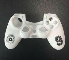 Silikon Skin Schutzhülle Case für Sony PlayStation 4 PS4 Controller Weiß